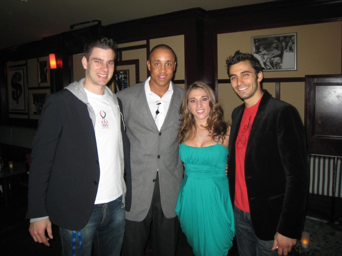 Myself, John Starks, Nicole Foster from Fox News show Happy Hour and Jason Rogers