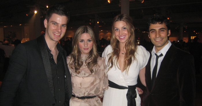 The Hills actors Whitney Port and Olivia Palermo