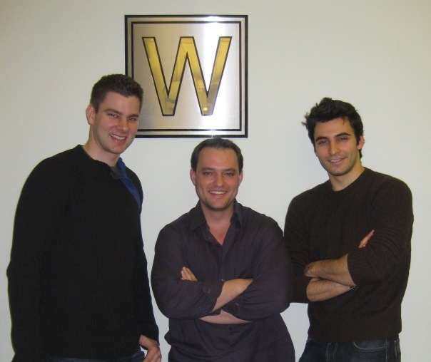 At the offices of Wilhelmina with our new manager Topher Despres