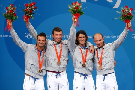 Bronze Medal Winning Italian Men's Sabre Team