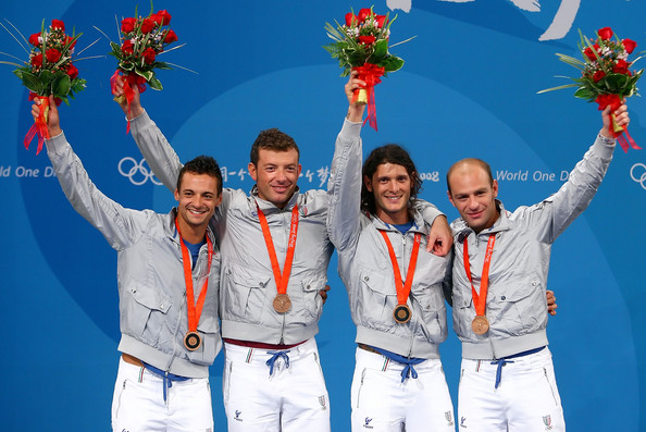 Bronze Medal Winning Italian Men's Sabre Team