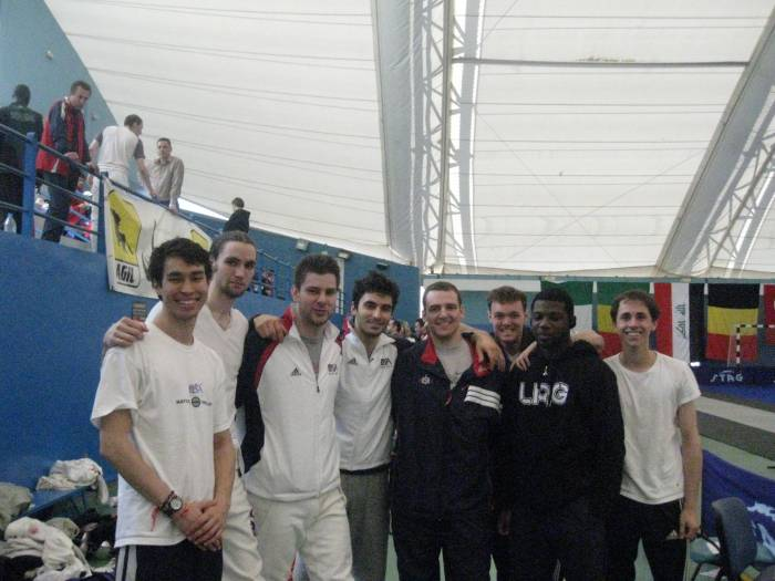 Team USA in Tunis
