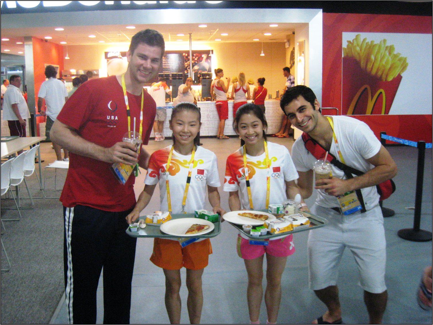 Chinese Food Olympic Village