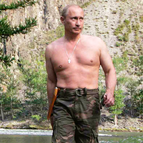 Topless Putin Greets Visitors to Sochi.   This is my favorite story out of the Olympics so far.