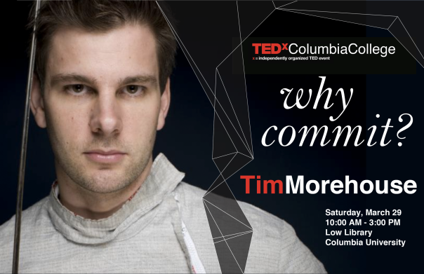 Excited to announce that I will be Speaking at Ted X Columbia on March 29, 2014 (10am-3pm)